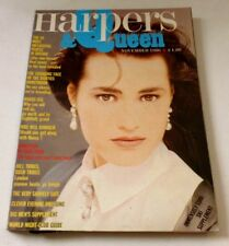 Harpers and Queen - November 1986   VINTAGE WOMENS MAGAZINE