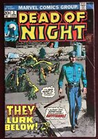 Dead of Night #3 (Marvel Comics 1974) Bronze Age GD+ Horror & Mystery Stories