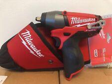 "Milwaukee M12 FUEL 12V Li-Ion 3/8"" Impact Wrench 2454-20 New + (1) HOLSTER"