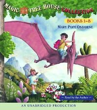 Magic Tree House Collection Books 1-8 Dinosaurs Before Dark th by Osbor CD-AUDIO