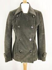 Per Una Khaki Green Cord Blazer Jacket UK Size 10 Pockets
