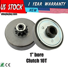 "Go Kart Parts 1"" Bore Centrifugal Clutch Belt Drive With Pulley GoKart OH"