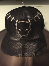 INFINITY WAR The Avengers 3 BLACK Panther MARVEL movie MEN'S SnapBack HAT Cap
