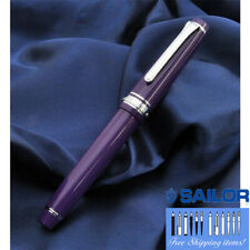 Sailor Professional Gear Slim Blueberry x Silver F-Nib 11-1222-250 FS w/tracking