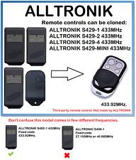 ALLTRONIK S429-1, S429-2, S429-4, S429-MINI Remote Control Duplicator 433.92MHz.