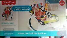 Fisher-Price CMR07 Infant-to-Toddler Rocker - Navy Dot