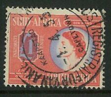 SOUTH AFRICA - 1954 QEII £1 Revenue (ME941)*