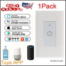 1Gang Smart WIFI Light Switch Works w/Alexa Google Home Office IFTTT Tuya App US