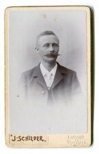 Photographie Portrait Homme Photographe J. Schilder Lausanne et Vallorbes