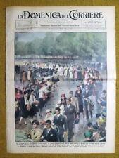 La Domenica del Corriere 12 novembre 1933 Nozze Roma - Val d'Aosta - Rachel