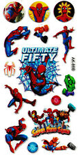 3D puffy Stickers SPIDERMAN Spider-Man 🕷️ Halk Ultimate Fifity Super Hero Squad