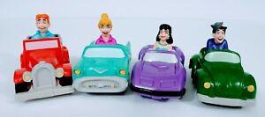 "Burger King Kids Club Toys ""Archie"" Comics Set of 4 1991 Loose"