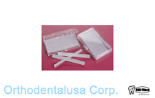 100 Pack Orthodontic WAX For BRACES Irritation WHITE UNSCENTED Orthodentalusa