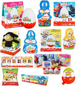 Kinder Surprise Easter Egg Milk chocolate marvel princess Boy Girl Toy Gift