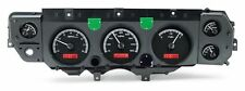 1970 1971 1972 Chevelle SS Gauge Kit Dakota Digital VHX Black Red VHX-CVL-K-R