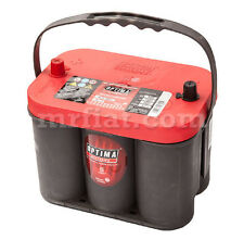 Fiat Dino 2000 2400 Optima Red Top Battery 50 Ah New