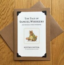 Handmade Birthday Card - Beatrix Potter - The Tale Of Samuel Whiskers