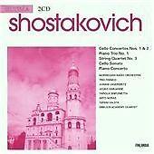 Shostakovich: Concertos and Sonata for Cello/Piano Trio No.1/Quartet No.3, , Ver