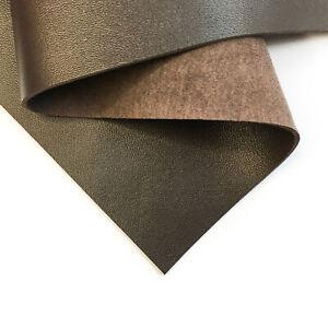 Dark BROWN Sheet 8x10in/20x25cm Genuine Leather Pieces 2oz/0.8mm  DARK CHOCOLAT