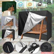 Waterproof Garden Swing Hammock Patio Furniture Cover Zipper Table Cover Outdoor