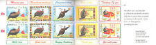 Namibia 1997 Greeting Stamps Guinea Fowl Humorous Cartoon Booklet MNH (SC# 845a)