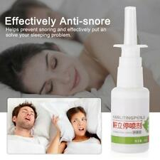 30ml Anti Snoring Spray Stop Relief Snore Sleep Apnea Nature Herb Nasal Spray