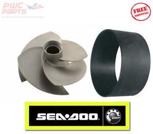 Seadoo 300HP Rxp-X Rxt-X GTX OEM Brp Rotor Usure Bague Kit 267000951 267000917