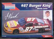 Monogram Joe Nemechek #87 Burger King Monte Carlo 1:24 Nascar Model Kit Sealed