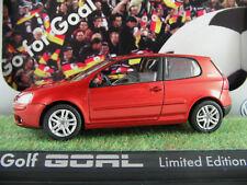 Schuco/VW 5x0 099 300 600 VW Golf V goal (2006) en orangemet. 1:43 nuevo/en el embalaje original