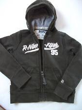 Orig.R 95TH - Sportliche,warme Vintage Sweatstrickjacke mit Kapuze  für 8J neuw.