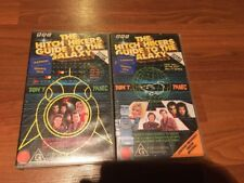 THE HITCH HIKERS GUIDE TO THE GALAXY - 1981 PART 1 & 2 - 2 X VHS VIDEO'S