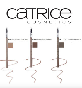 CATRICE 'Eye Brow Stylist' Eyebrow Pencil Liner Definer with Brush Comb NEW!