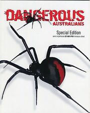 2006 Dangerous Australians Special Edition Red Back Spider Mini Sheet Stamp Pack