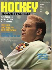 1970 (Jan.) Hockey Illustrated Magazine, Bobby Hull, Chicago Blackhawks ~ VG