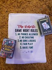 Personalised Family Games Night In A Bag  Ideal Christmas Gift