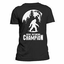 Bigfoot Social Distancing Champion Funny Tee Men's T-Shirt