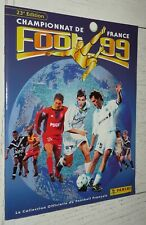 ALBUM PANINI FOOTBALL FOOT 99 CHAMPIONNAT FRANCE 1998-1999 VIDE VIERGE