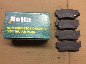 New Delta 763-D418 Organic Disc Brake Pad Pads