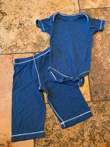 Kickee Kicky Pants 0-3 Bodysuit 3-6 Old Style Bottoms Set