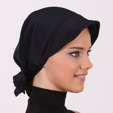 US Seller NEW Women Bonnet Cancer Chemo Hijab Turban Cap Beanie Hat Scarf Summer