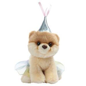 """GUND World's Cutest Dog Boo Itty Bitty Boo Princess Stuffed Animal Plush 5"""""""