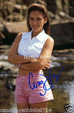 Amy Jo Johnson reprint signed Pink Power Ranger 8x12 photo #1 RP Flashpoint
