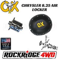 OX AIR Locker CHRYSLER 8.25 2.73 & UP 29 SPLINE W/ HEAVY DUTY Differential Cover