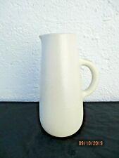 Baudart Dominique ceramique Vallauris vers 1960 pichet ceramique emaillee blanc