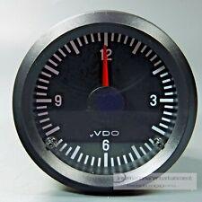 VDO QUARZUHR - 24 VOLT  ZEITUHR UHR  ELECTRIC CLOCK  INSTRUMENT ANZEIGER  52mm