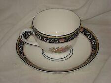 Wedgewood Runnymede Bone China - W4472 - Tea Cup / Saucer