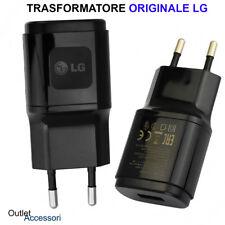 Trasformatore Caricabatteria Originale LG Presa Trasformatore Muro G2 G3 Pro G4