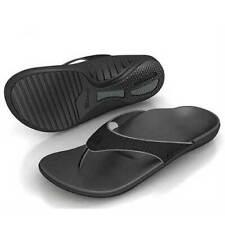 Spenco Men's PolySorb Total Support Yumi Sandals - Black/Pewter