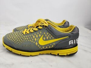 NIKE Air Max Dragon Men's Shoes Gray And Lime Yellow Lace Up Size 10