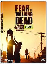 FEAR THE WALKING DEAD DVD LA PRIMERA TEMPORADA COMPLETA NUEVO ( SIN ABRIR )